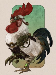 Steampunk Rooster