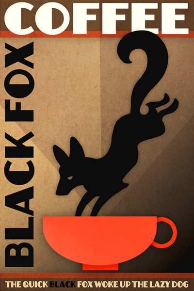 blackfoxcoffeelight